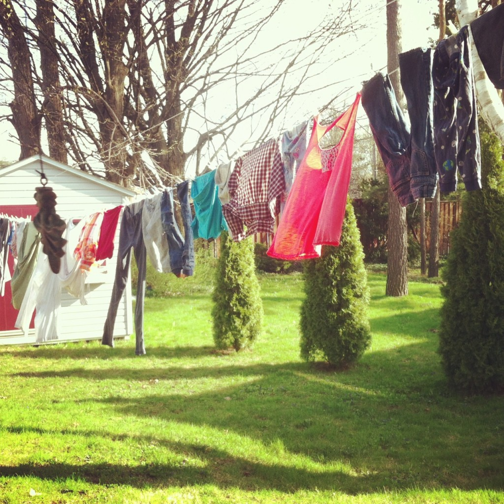 Line of Laundry