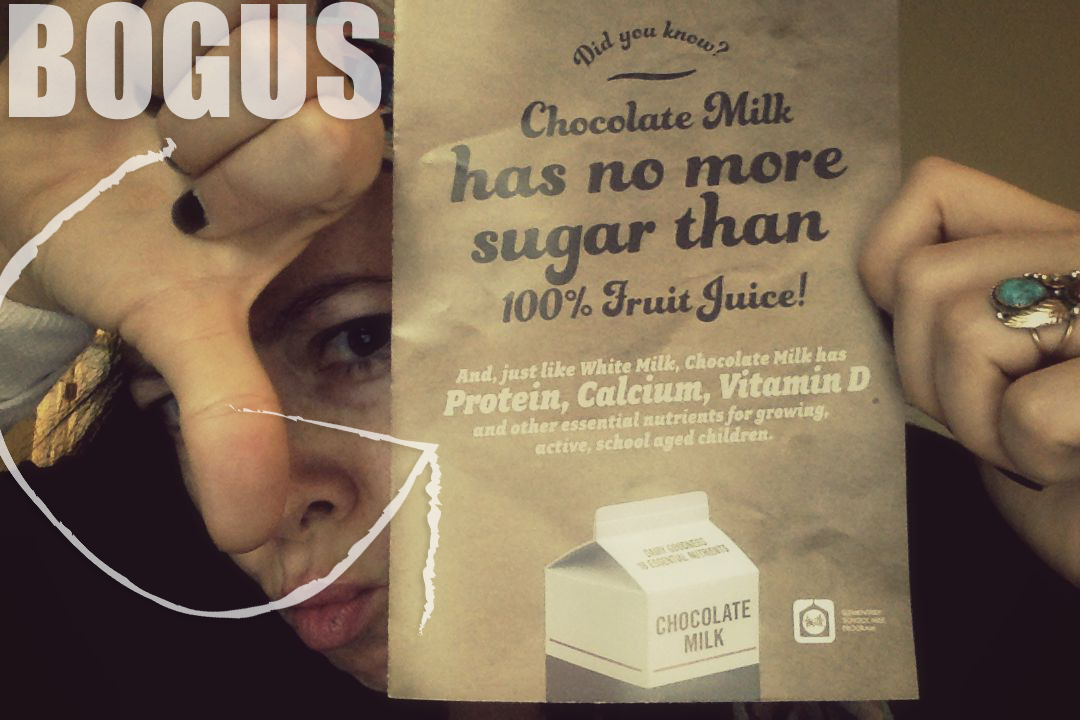 BOGUS MILK CLAIMS